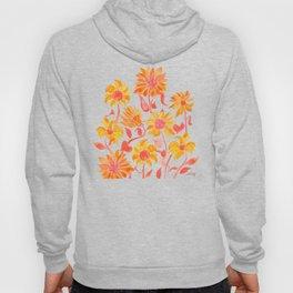 Sunflower Watercolor – Fiery Palette Hoody