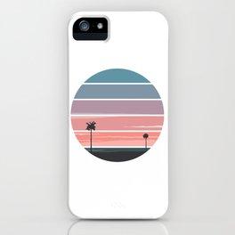 Palm Sunset iPhone Case