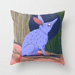 The bilby a rabbit-like marsupial Throw Pillow