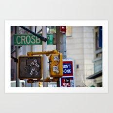 Crosby Street Art Print