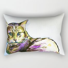 Ms. KittyLittleHead Rectangular Pillow