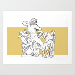 Ancient in new format Art Print