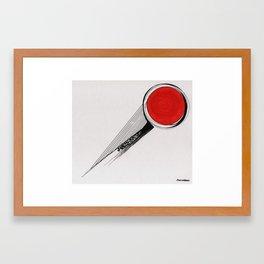 time to go exploring Framed Art Print