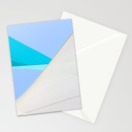 Abstract Sailcloth c1 Stationery Cards