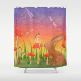 Apology Shower Curtain