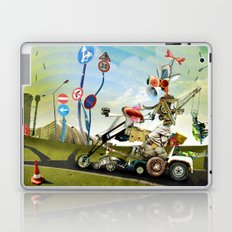Driver Laptop & iPad Skin