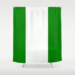 Flag of Nigeria Shower Curtain