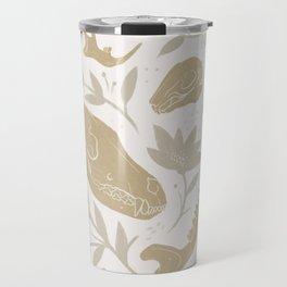 Forest Floor - Gold Travel Mug