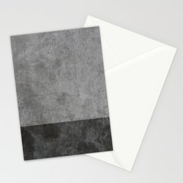 Concrete texture Stationery Cards