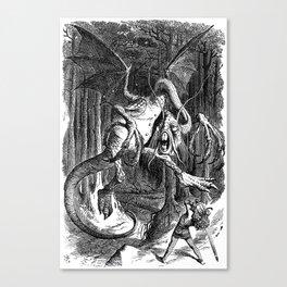 The Jabberwocky Canvas Print