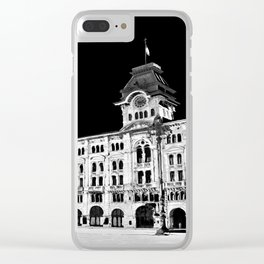 Piazza Unità Clear iPhone Case