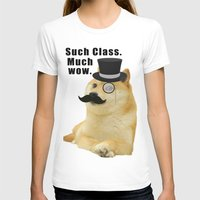 doge T-shirts featuring Classy Doge by Tayler Smith