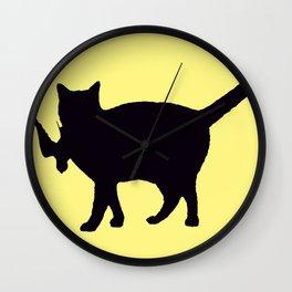 Cat Catch Wall Clock