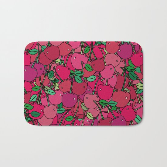 Cherry Mix Bath Mat