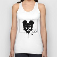 horror Tank Tops featuring Horror Mickey by Renars