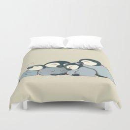 Pile of penguins Duvet Cover