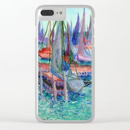 Chicago Pier | 2004 Clear iPhone Case