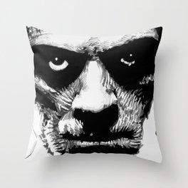 Karloff as The Mummy Throw Pillow
