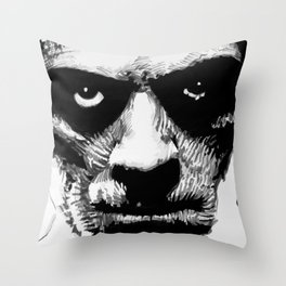 Karloff as The Mummy Throw Pillow