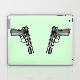 Hip Tattoo Pistols Laptop & iPad Skin