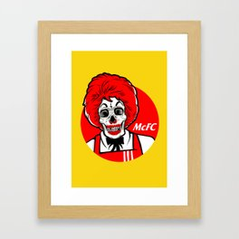 Colonel Ronald Framed Art Print