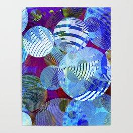 Violet Paper Lanterns Poster
