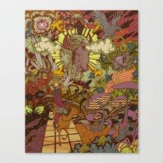 Hero's Journey Canvas Print