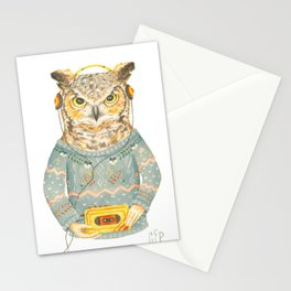Feathers & Tunes Stationery Cards