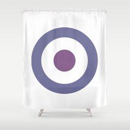 clint's target Shower Curtain