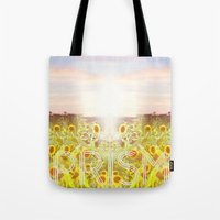 prism Tote Bags featuring PRISM by Kao Intouch