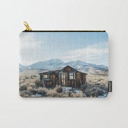 Lone Cabin Scene Carry-All Pouch