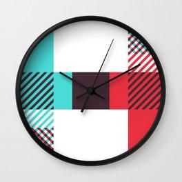 Rotation Alphabet 'H' On White Wall Clock