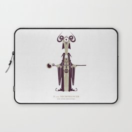 N is for Necromancer Laptop Sleeve