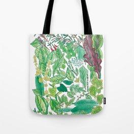 Edible Garden Tote Bag
