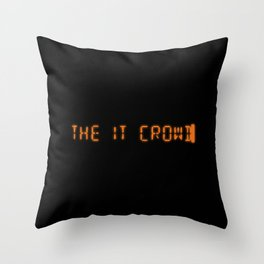 Title - The IT Crowd Throw Pillow