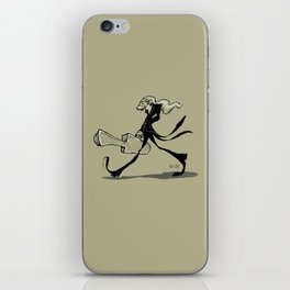 The gifted introvert iPhone Skin