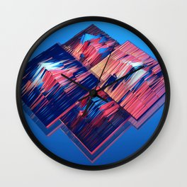 Transitions XXXV - Parallels Wall Clock
