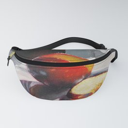 Plum in a Sunny Window Fanny Pack