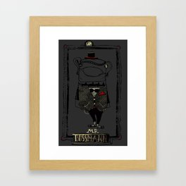 Mr. Bossman Framed Art Print