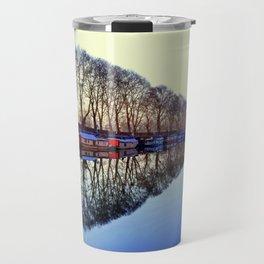 Floating Houses Travel Mug