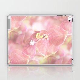 Some Soft Pink Flowers Hydrangea #decor #society6 Laptop & iPad Skin