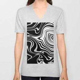 Radiating Waves Unisex V-Neck