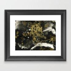 Black and Gold II Framed Art Print