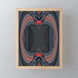In and Out Framed Mini Art Print