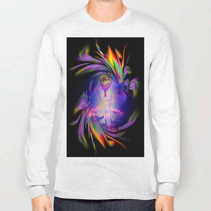 Flowermagic - good luck Long Sleeve T-shirt