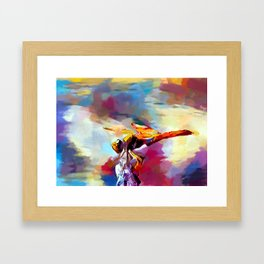 Dragonfly 4 Framed Art Print