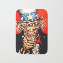 Uncle Zombie Sam Bath Mat