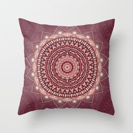 Crystalline Harmonics - Celestial Throw Pillow