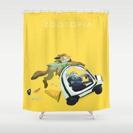 zootopia Shower Curtain