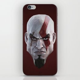 Triangles Video Games Heroes - Kratos iPhone Skin